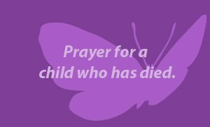 Send a virtual prayer card for a child who has died as a result of addiction